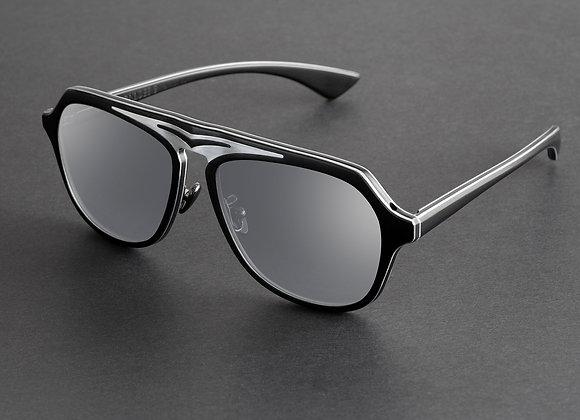 Monture Supersonic Black & Silver Mirror Edition