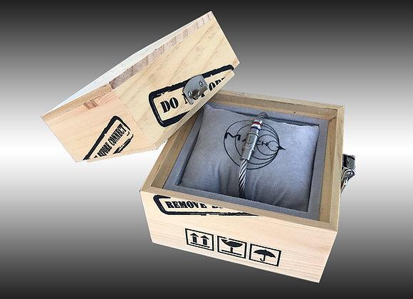PACK coffret + bracelet MACH 2 SILVER AERO-DESIGN Edition