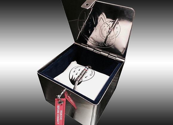 Pack prestige coffret inox + Bracelet MACH 2 PATROUILLE DE FRANCE Edition