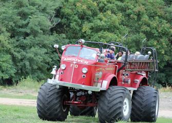 Monster truck ride delights the ridersIM