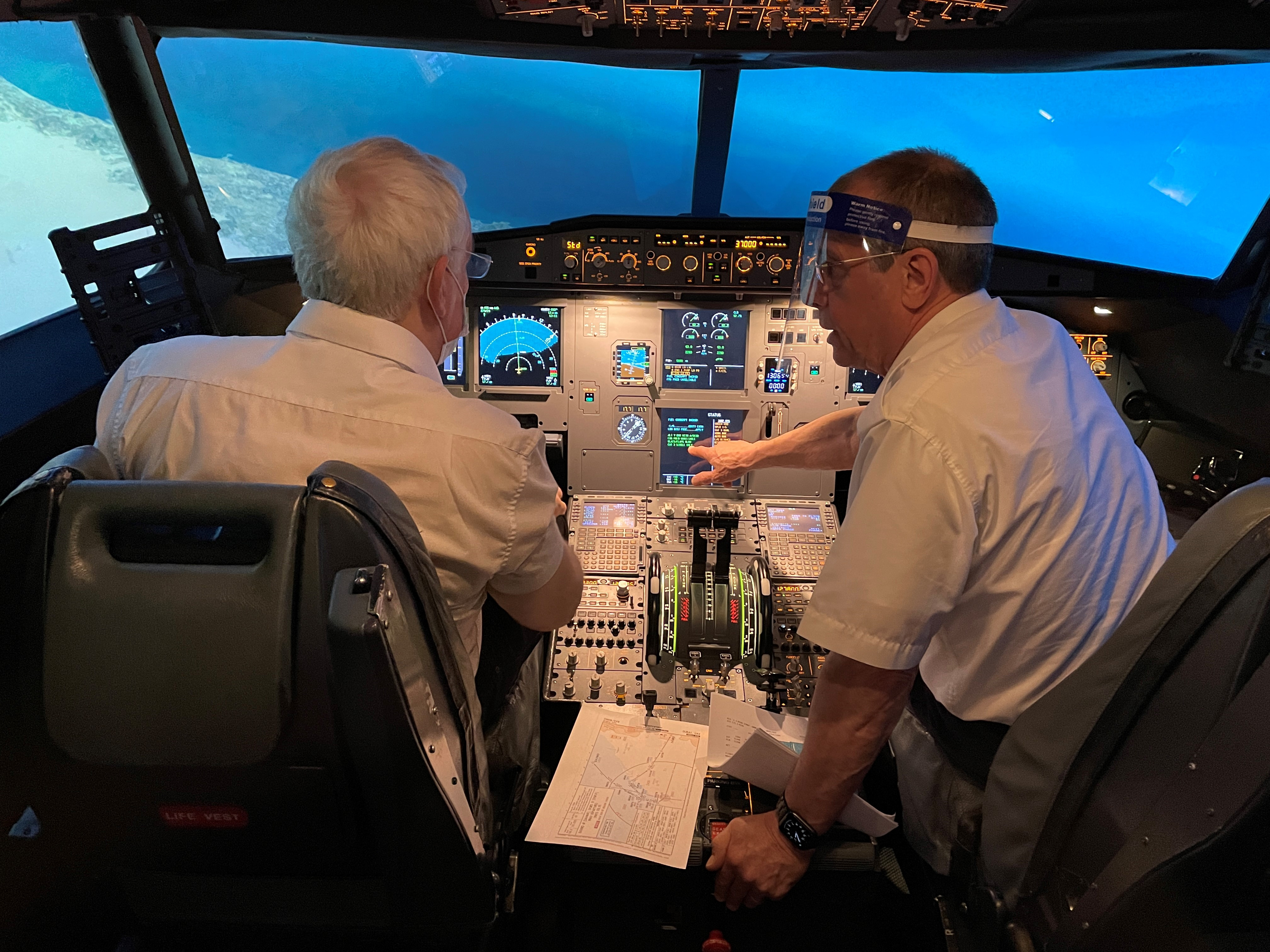 Airline Pilot Experience Airbus A320