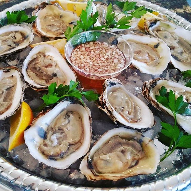 Can you say _ Oysters Anyone_ _ with the house is special blended mignonette