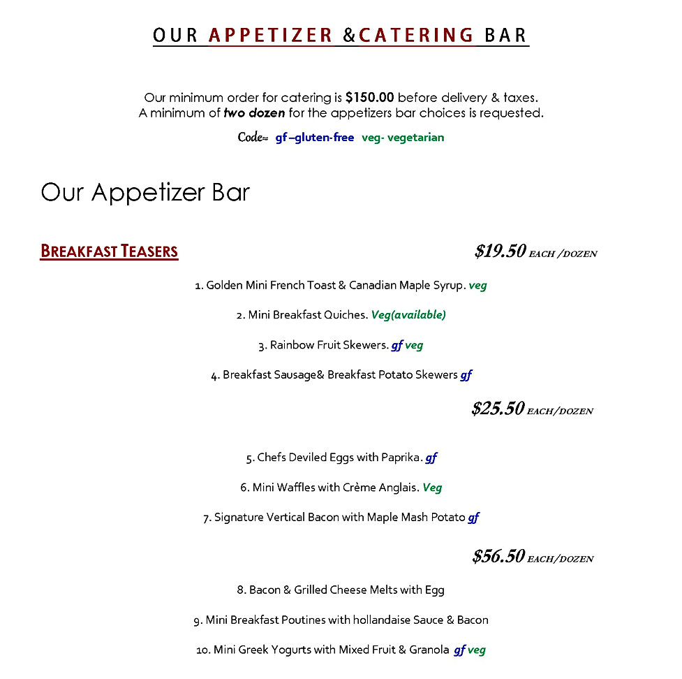 the Appetizer BAR menu 2018 b_Page_01 -