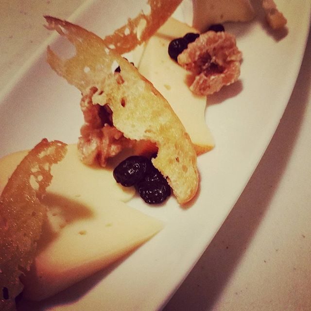 Our Quebec  3 Cheese Dish with candied walnuts