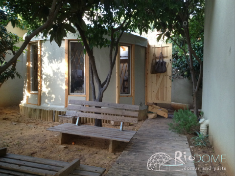 אוהל מונגולי קוטר 4