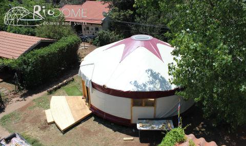 יורט- אוהל מונגולי