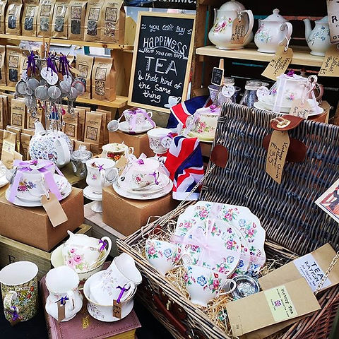 ♥️☕All set up for Bridlington Old Town 1