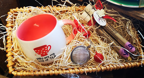 """You're My Cup Of Tea"" Gift Hamper"