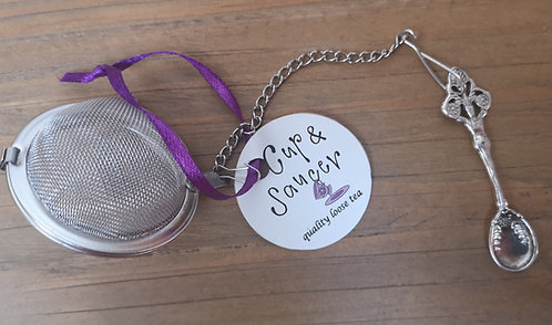 Teaspoon charm infuser ball