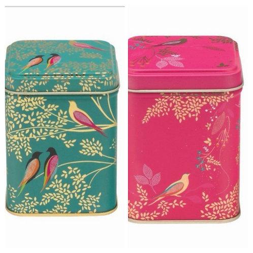Sara Miller design Tea Tins