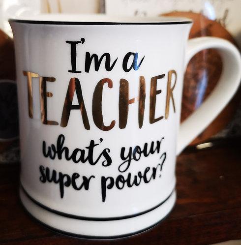Sass & Belle 'Teacher' Mug