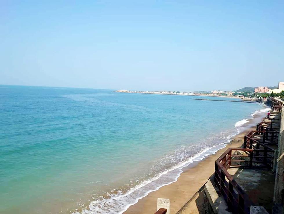 夢想地圖咖啡館 美麗的海景