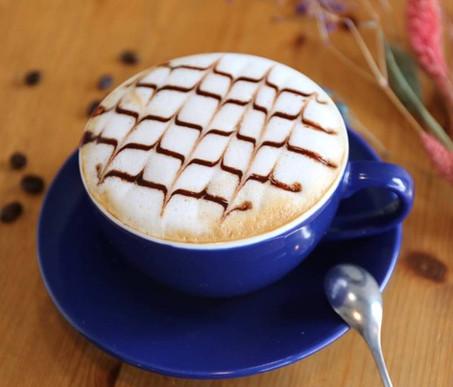 夢想地圖咖啡館摩卡咖啡