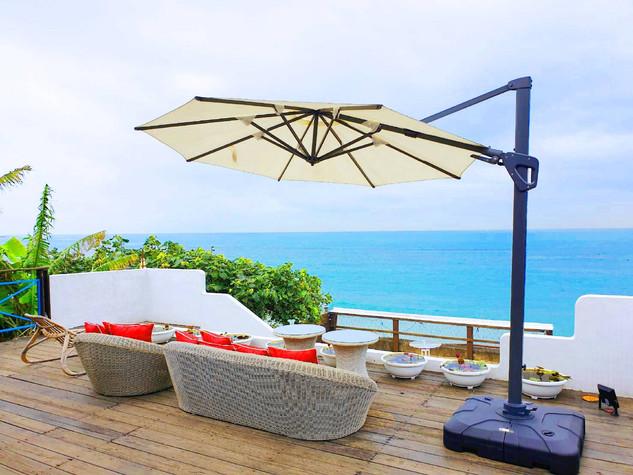 夢想地圖咖啡館 露天海景座位