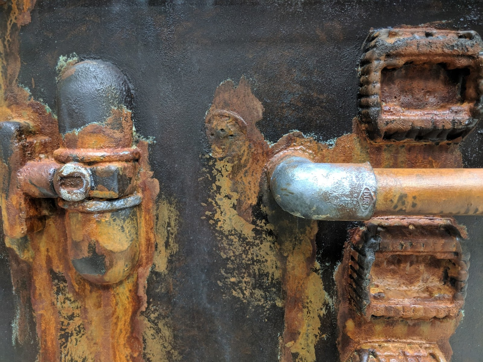 Rusted Metal Close-up