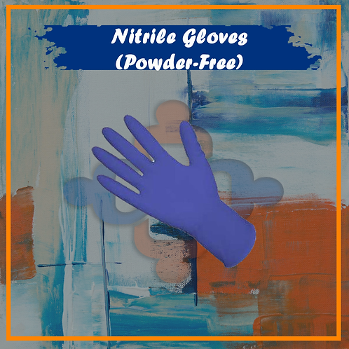 Nitrile Gloves (Powder-Free)