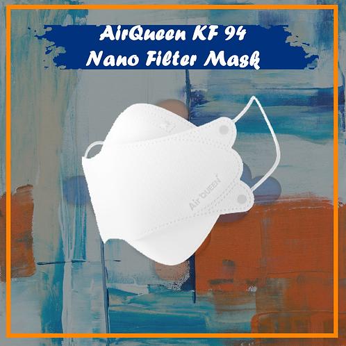 AirQueen KF94 NanoFilter Reusable Face Mask
