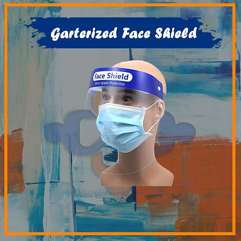Garterized Face Shield