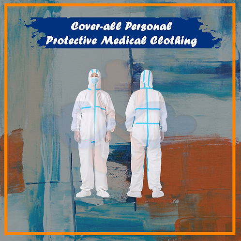 Cover-all Personal Protective Medical Clothing