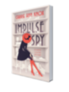 Cover of Sonic Sleuths Series cozy mystery book 1 Impulse Spy