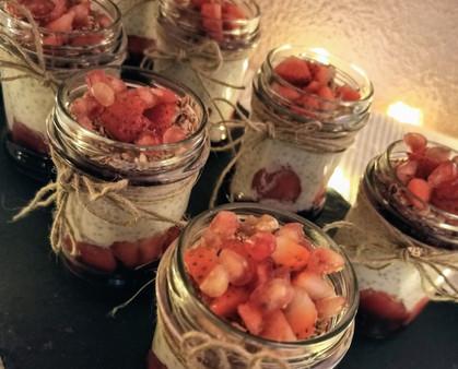 Yummy chia pudding recipe! - Receta de pudding de chía para ese delicioso toque dulce
