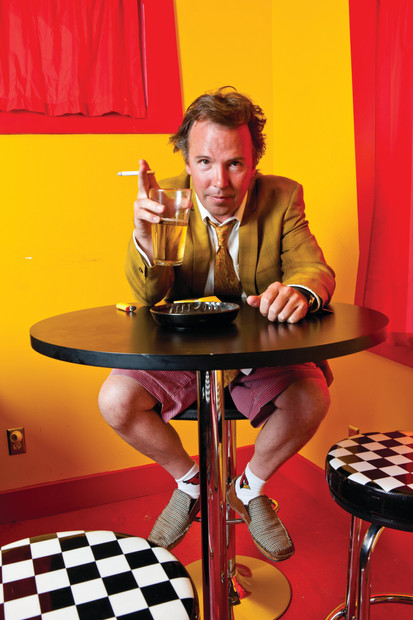 Doug Stanhope and that's why he drinks