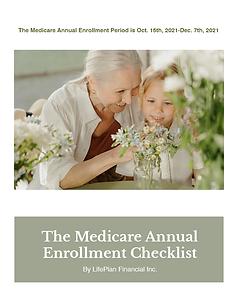 Free Downloadable Medicare Annual Enrollment Checklist