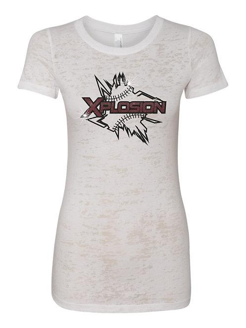 Xplosion Ladies Burnout T-shirt