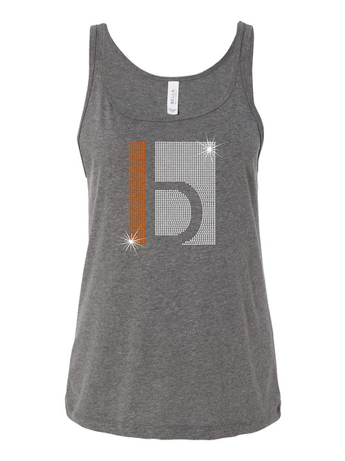 B&W-Ladies Relaxed Jersey Tank