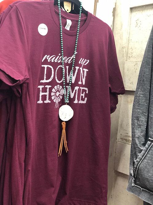 Praying Mama-Down Home-T-shirt