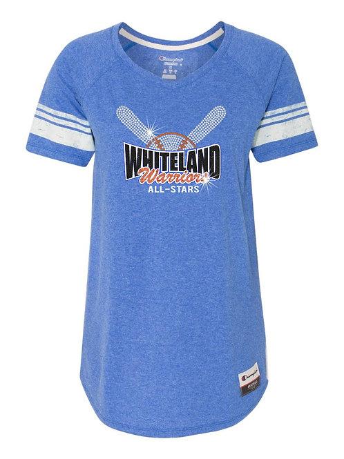 Whiteland-Baseball Jersey T-Shirt