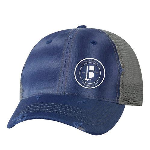 B&W-Trucker Hat