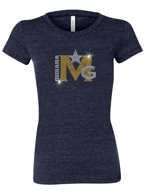 Magic Gold Ladies Cotton T-shirt