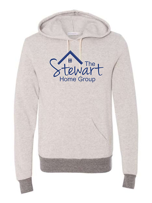 The Stewart Group-Banded Hooded Fleece