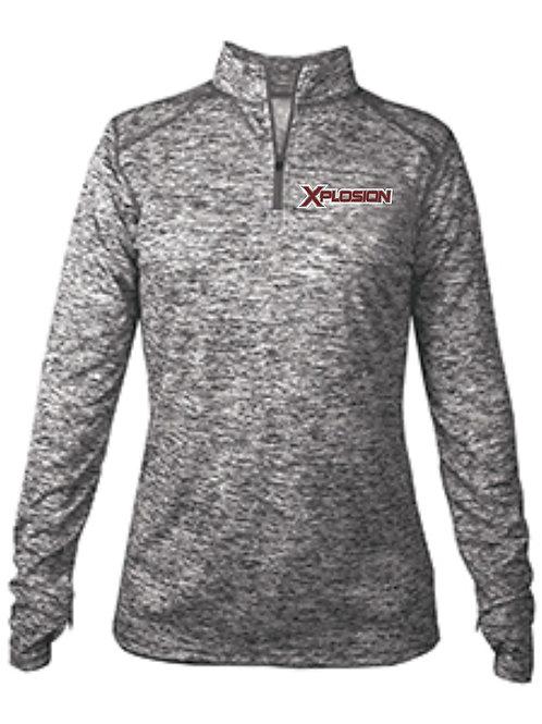 Xplosion-Ladies 1/4 Zip Pullover