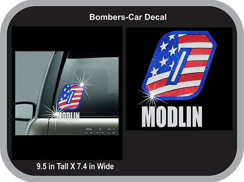 Bombers-Car Decal