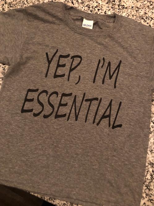 Yep, I'm Essential