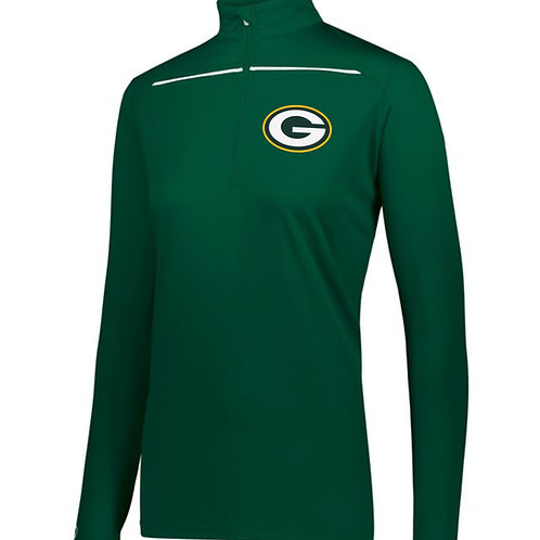 Greenwood Woodmen- Ladies 1/4 Zip Pullover