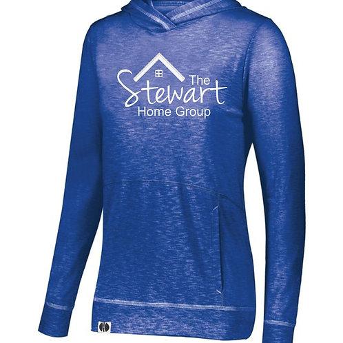 The Stewart Group-Hooded Lightweight Longsleeve