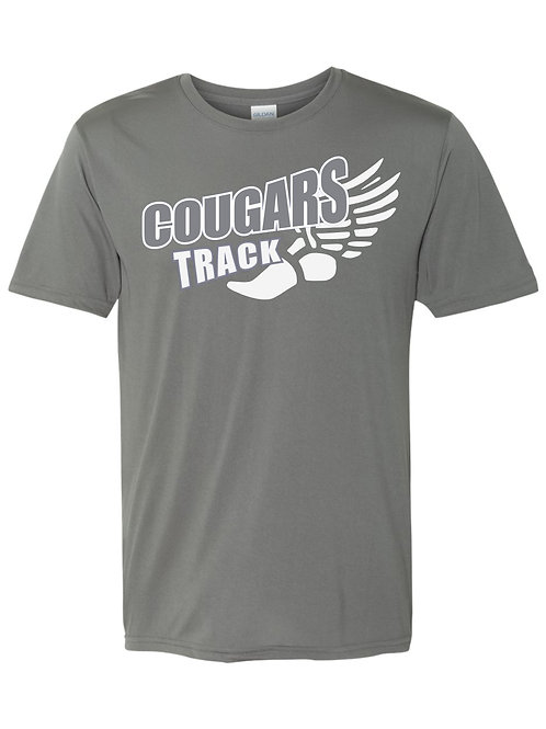 Cougar Track-Dri-fit T-shirt