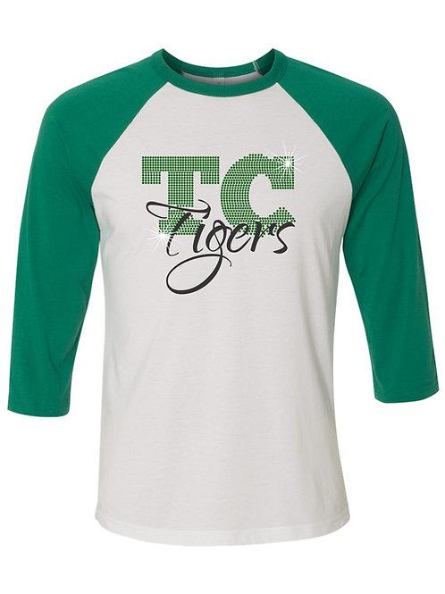 Triton Central-3/4 Sleeve Baseball T-shirt