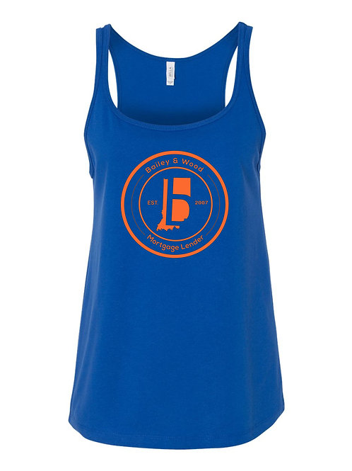 B&W-Ladies Relaxed Racerback Tank