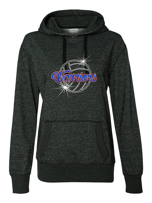 Whiteland Volleyball-Ladies Glitter Infused
