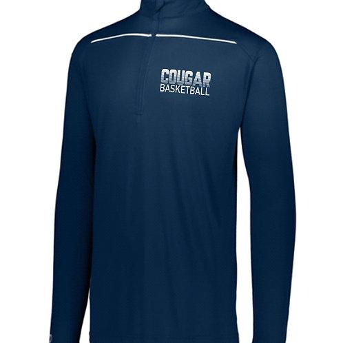 GCA Cougar Basketball-1/4 Zip Pullover