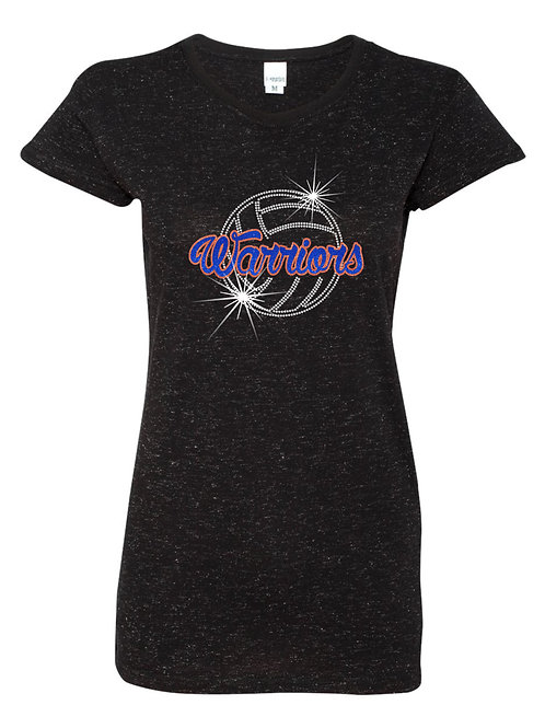 Whiteland-Ladies Glitter Infused T-shirt