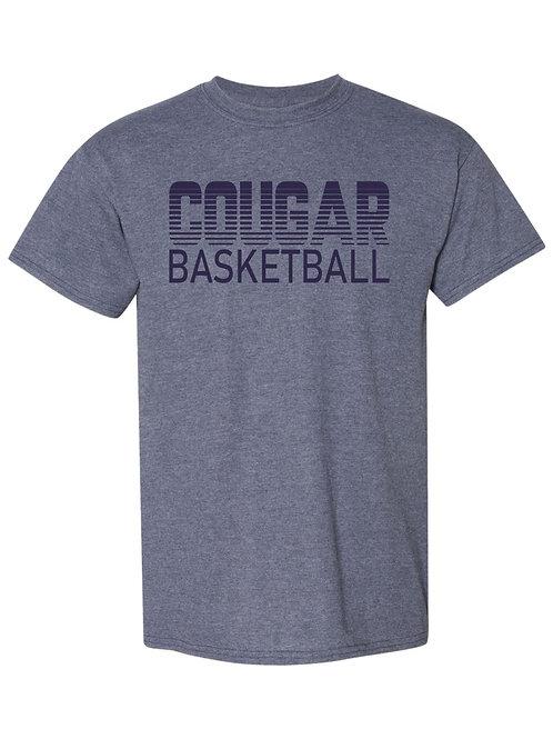 GCA Cougar Basketball T-shirt
