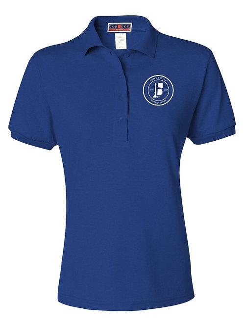 B&W-Ladies Polo Shirts