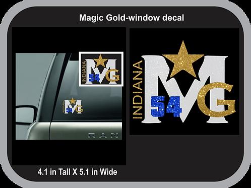 Magic Gold-Car Decal