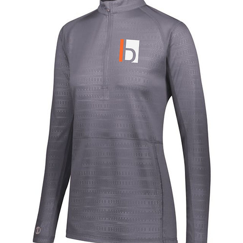 B&W Ladies Lightweight 1/4 Zip Pullover
