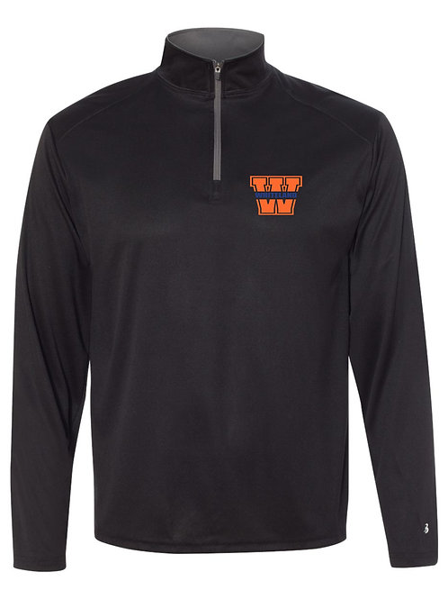 Whiteland-Men's Dry-fit 1/4 zip pullover